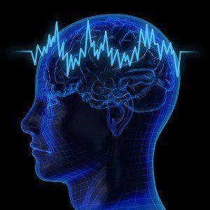 Very high resolution 3d rendering of an human brain.